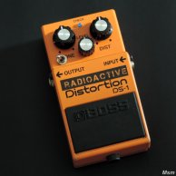 "Boss DS-1 modifiée ""Radioactive"", par Msm workshop"